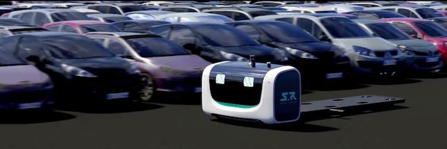Des robots valets garent votre voiture tout seuls à l'aéroport de Lyon