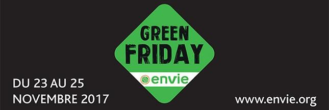 Ce vendredi, tentez le Green Friday plutôt que le Black Friday