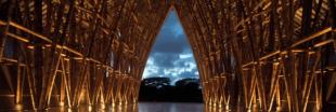 Simon Vélez, le magicien du bambou