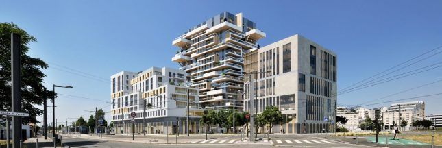 Eco-construction:  du bois… dont on fait des tours à Bordeaux!