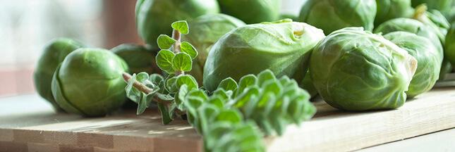 Légumes mal-aimés: le chou de Bruxelles, un super allié pour notre santé