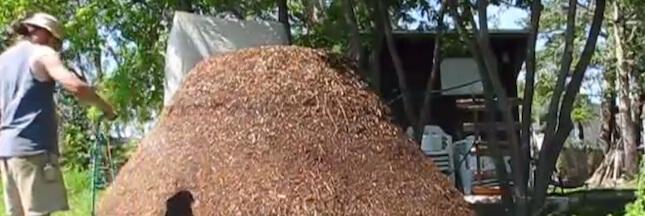 La méthode Jean Pain: de l'énergie verte grâce au compost de broussailles