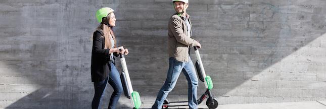 Paris: après les vélos, voici les trottinettes en libre-service!