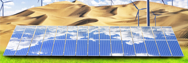 Et si les installations solaires et éoliennes pouvaient aider à reverdir le Sahara?