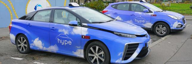 Paris se dotera de 500 nouveaux taxis à hydrogène d'ici 2020