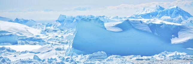 Alors que les glaces fondent, des glaciers se reforment!