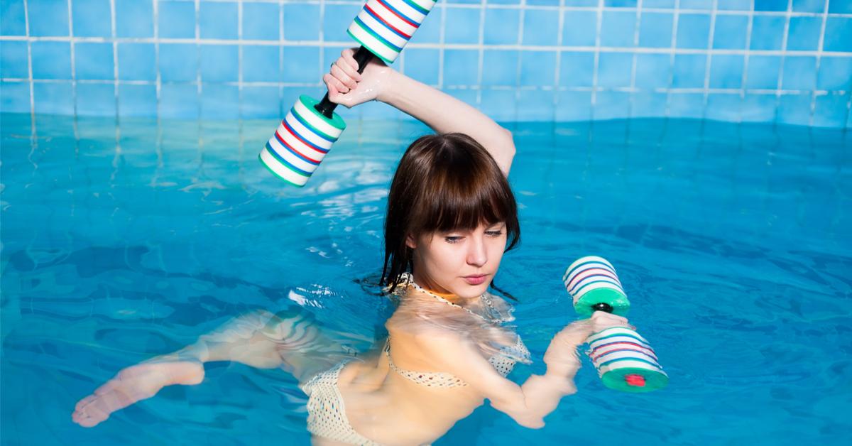 sports en piscine