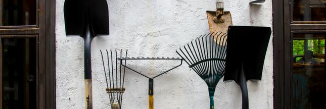 Entretenir les ustensiles et les outils de jardinage avant l'hiver