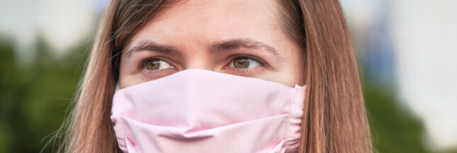 Covid-19: les masques en tissu maison controversés