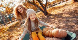 Que faire au jardin avec son enfant en automne?