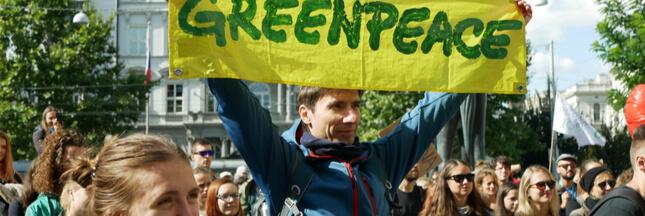 Isf climatique: Greenpeace veut s'attaquer à 'l'argent sale du capital'