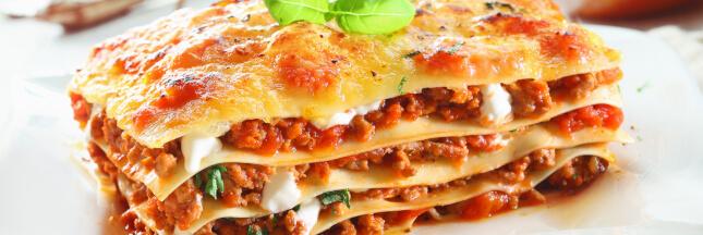 Les lasagnes tout le monde aime mais comment varier?