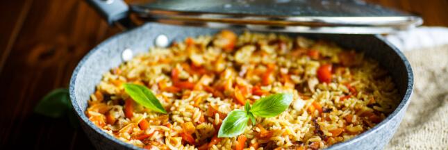 Le riz pilaf, des idées pour cuisiner
