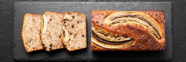 Recette anti-gaspi: le cake à la banane