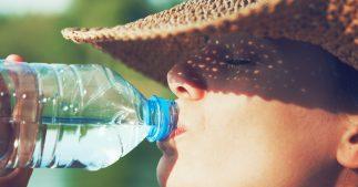 gourde ou bouteille d'eau