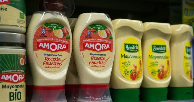 Arnaque sur l'étiquette: mayonnaise allégée? Foodwatch a pesé le sucre et le sel ajouté…