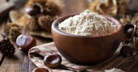 La farine de châtaigne, naturellement sucrée et sans gluten