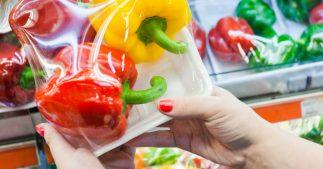 plastique fruits et légumes