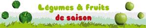 calendrier fruits legumes bio de saison