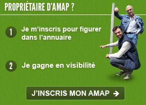 Propriétaire d'AMAP, inscrivez vous