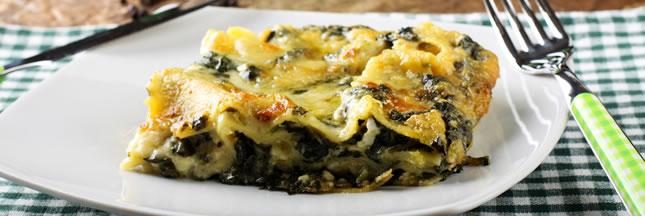Les lasagnes végétariennes