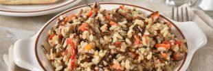 Recette : salade aux trois riz aux légumes