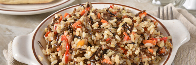 Recette: salade aux trois riz aux légumes