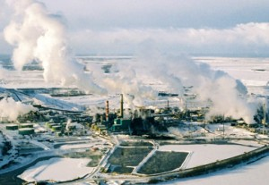 Sables bitumineux usine Suncor