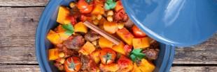Le Tajine de potiron aux fruits secs