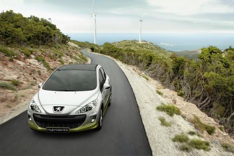 Peugeot 3008 Hybrid4 diesel electrique