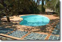 panneau solarie pour piscine