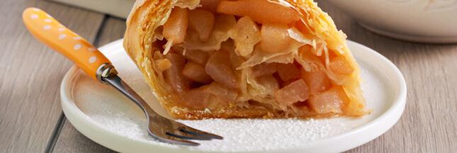 Croustillants vanillés : bricks aux pommes fondantes vanille-cannelle