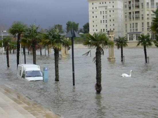 rechauffement inondations