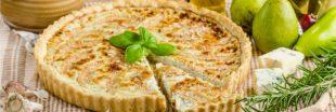 Recette de la tarte piquante aux poires