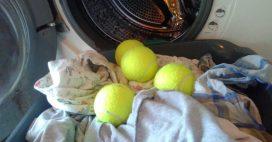 Balles de tennis vs Balles de lavage