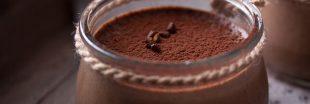Un dessert vegan facile, la recette de la crème chocolat-gingembre