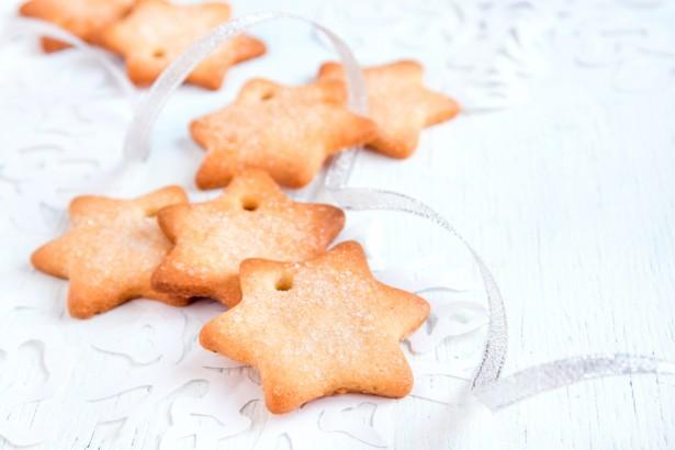étoiles de Noël, biscuits sablés