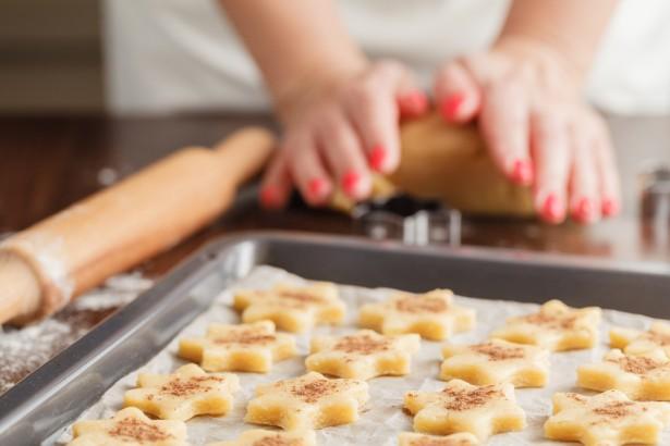 étoiles de Noël, biscuits, recette, préparatio