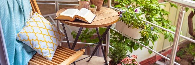 Aménager son balcon en petit coin de paradis