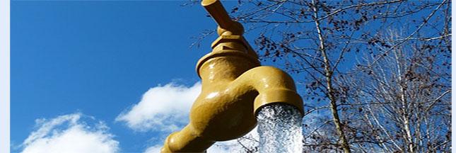 J'économise l'eau du robinet