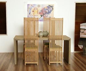 des meubles en carton une id e qui cartonne. Black Bedroom Furniture Sets. Home Design Ideas