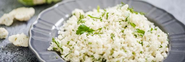 Recette bio: couscous de chou-fleur cru