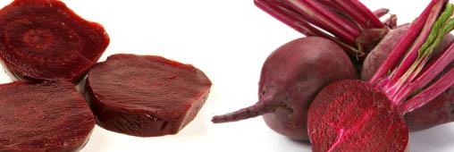 Légumes et fruits d'été : la betterave