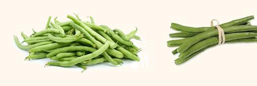 Légumes et fruits d'été : le haricot vert