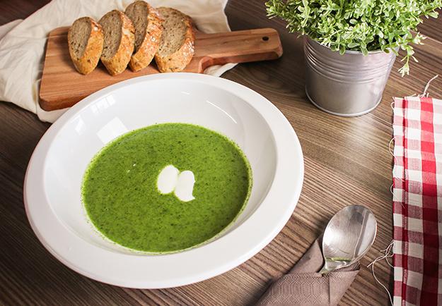 potage légumes verts épluchures