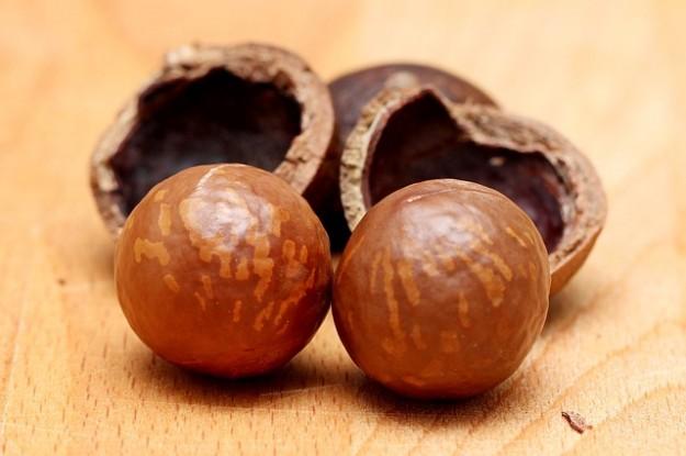 atténuer les vergetures, noix de macadamia