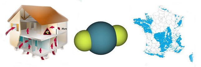 Radon: un gaz naturel et…radioactif présent dans l'habitat