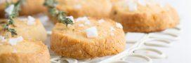 Fondez doucement pour nos sablés noix de cajou – parmesan