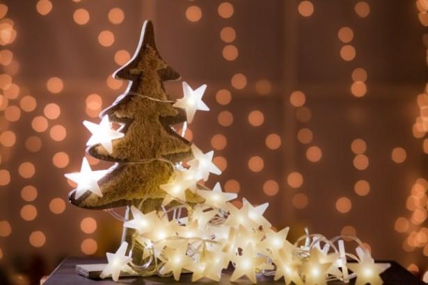 guirlande, ampoules Led, sapin de Noël