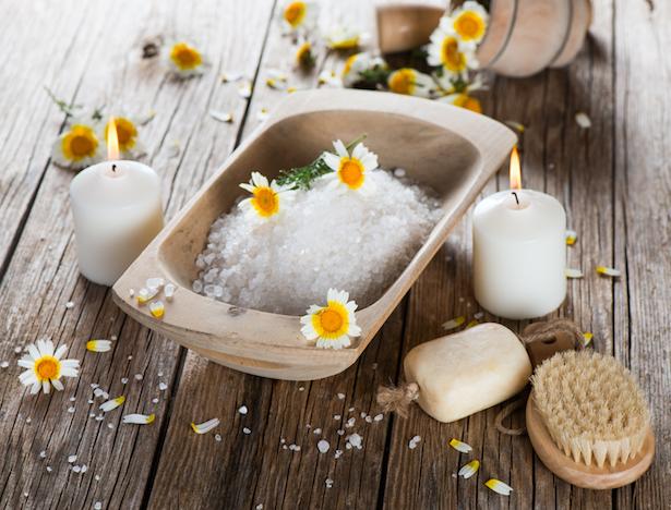 le sel, sels de bain
